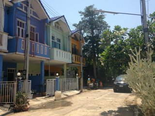 House near the beach, Pak Nam Pran
