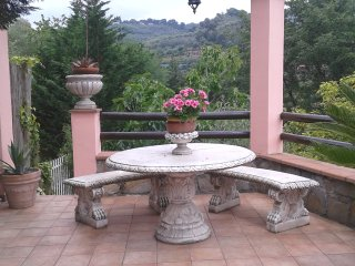 The charming terrace, Imperia