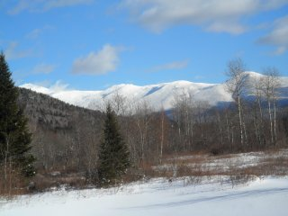 Peaceful retreat in Nat'l Forest, 1 mile to skiing, Bretton Woods