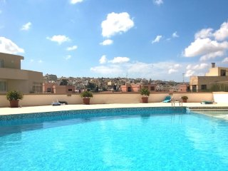 Apartment in St Julians with Swimming pool