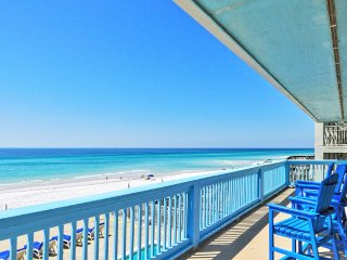 20% OFF March Sol Mate : BEACH FRONT 7 Bdrm Gulf View w/ Pool, Media/Game Rm, Destin