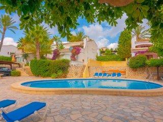 Casa de vacaciones Cabanas en Calp,Alicante,para 4 huespedes