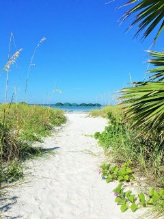 Sugary Soft Crystal White Sand Path