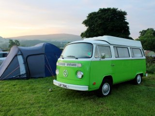 All-Electric Classic Camper Van Hire