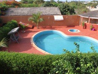 Mangoresidence, Villa, piscine et jardin et verger