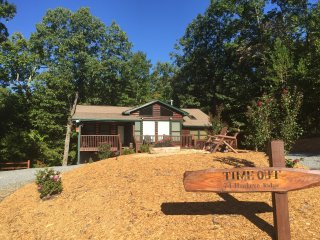 Time Out- Blue Ridge Cabin Rental