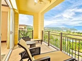 3 bed, 3 bath, 2 stories, private terraces, ocean, resort & marina views!
