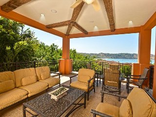 3 bed, 3 1/2 bath, 2nd floor with large private patio, resort & ocean views.