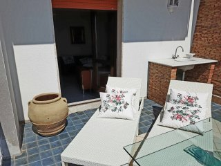 Casa suddivisa in livelli con ingresso in comune, Casal Velino