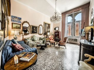 Apartment Palazzo holiday vacation large apartment rental italy, venice, near gr
