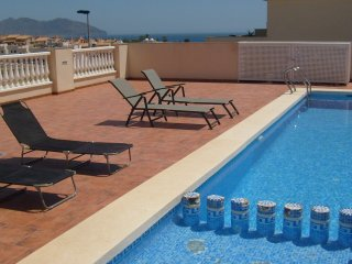 STUNNING HOUSE WITH FABULOUS VIEWS. AIR CON-WiFI, Puerto de Mazarron
