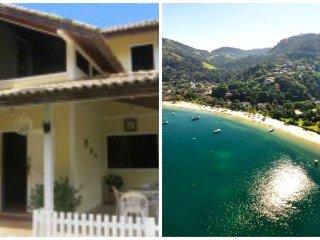 Paraíso  em Angra dos Reis, Porto Galo Casa 6 qtºs