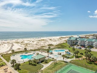 2BR, 2BA Gulf Shores Plantation Condo with Dazzling View and Several Pools