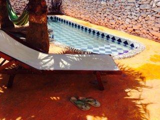 7klm ESSAOUIRA  Berbere Paradise RIAD DE CHARME piscine