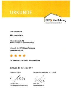 DTV 4-Star Certificate