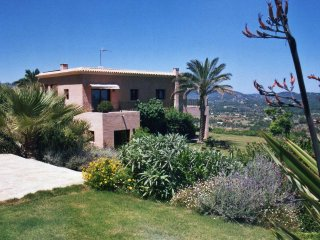 Panoramic 5 bedroom (all en suite) villa, Es Canar