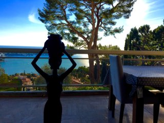 1 bedroom apartment with panoramic sea view, Villefranche-sur-Mer