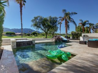 PGA West, golf course, waterslide pool home, game, La Quinta