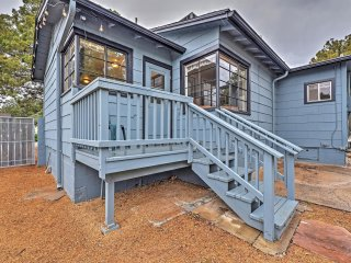 New Listing! Vintage 2BR Prescott Cottage w/Private Backyard, Fire Pit, Nice Kitchen, Remodeled Interior & Luxury Upgrades - Ideal Walking Distance to Downtown, Shops, Restaurants & Courthouse Square!