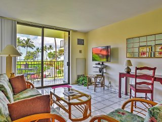 New Listing! Expansive 1BR Kihei Condo at Village by the Sea w/Wifi, Private Lanai, Ocean Views & On-Site Pool Access - Steps to the Beach! Minutes from Golf, Tennis, Sailing & Entertainment!