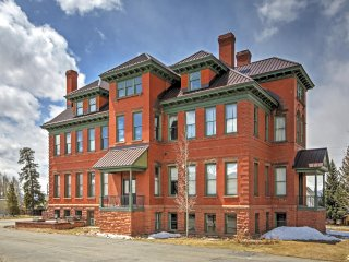 New Listing! Classic 2BR Leadville Condo w/Wifi, Panoramic Mountain Views & Historic Setting in a Converted 1880's Hospital - Close to Downtown, Hiking, Golf, Outdoor Activities & Major Ski Areas!