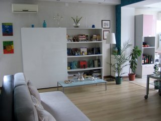 Artistic apartment in the uppertown Almaty