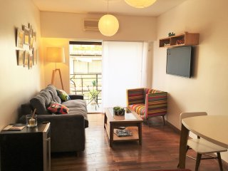 Enjoy Buenos Aires in a cozy apartment w/balcony