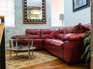 Large sectional can sleep extra guest