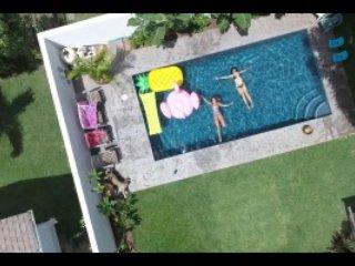 Private Garden Studio, Pool on property, Kailua