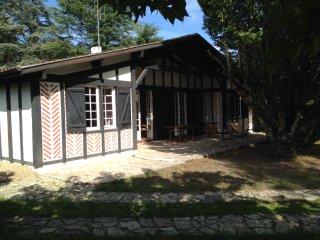 Grande maison landaise entre mer et golf 12 pers., Seignosse