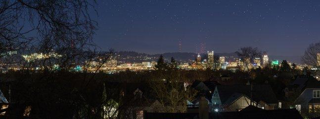 City View at Night - Winter