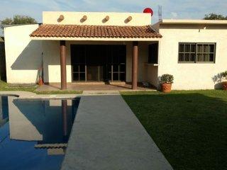Magnífica casa con alberca en Morelos, Yautepec