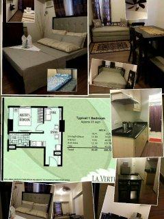 1bedroom/1bathroom fully furnished unit