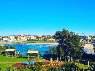 Bondi beach + Parking + beach front + bathroom