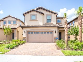 NEW Grand 6BR 4.5Bath pool home in WINDSOR at WESTSIDE w/lazy river from $235/nt, Orlando