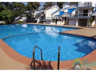 Well furnished 3 bedroom apartment with shared pool: CM019, Siolim