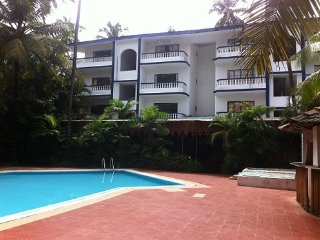 CM:Studio Apartment With Pool View in Aropra CM057, Arpora