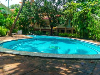 Simply Offbeat Vagator Goa 1bhk Cozy Pool Apt