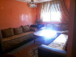 Appart familiale F3 bien ensoleillé à Agadir