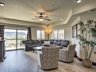 4BR St. George Condo w/Estancia Resort Amenities!