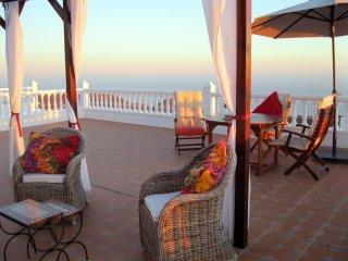 Ibiza style luxury mountain villa with amazing sea views