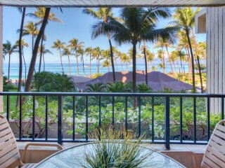 Maui Resort Rentals: The Ka'anapali Ali'i 432 - Deluxe Oceanview Interior Courty
