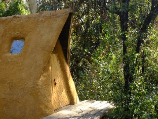 El Arca Naranja, Ecologic Cabin near Santiago