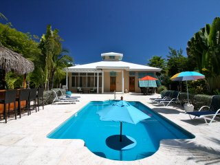 BAREFOOT PALMS,  Kick Back and Relax Tiki Style!, Providenciales