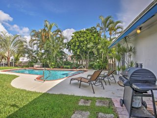 3BR Fort Lauderdale Area Home w/Pool & Hot Tub!