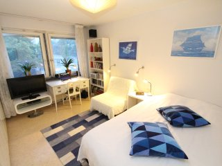 The White Room in a large Apartment, Södermalm, Stoccolma