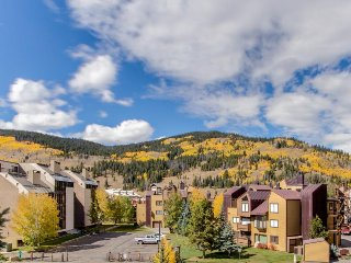 Roomy, ski-in/ski-out condo w/ shared hot tub & views - excellent location!