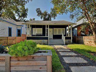 3BR, 2BA East Austin Bungalow with Backyard Propane Heater, Near Rainey St.