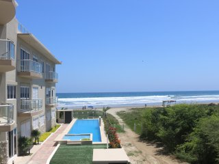 Modern Beachfront Condo in Olon**Available January. Monthly rental only**