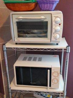 Forno elettrico e microonde per cucinare i vostri piatti preferiti